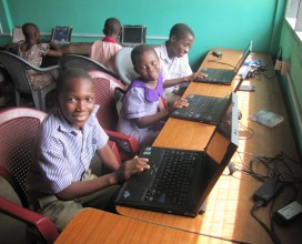 Evident Life Church donated a computer lab to the King's Voice Academy.